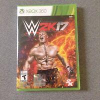 XBox 360   WWE 2K17   (Microsoft Xbox 360)    NEW & Sealed   XBox Live