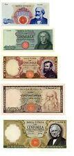 Italia 1000 - 100000 Lire Serie - 1962-1971  (Riproduzione/copy)