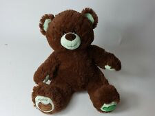 Build A Bear Girl Scout Thin Mints Cookie Brown & Green Bear Stuffed Plush