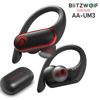 BlitzWolf AIRAUX Waterproof TWS Stereo Bluetooth 5.0 Earbuds Earphones Headset