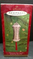 Millennium Time Capsule Hallmark Keep Sake Christmas Ornament T89