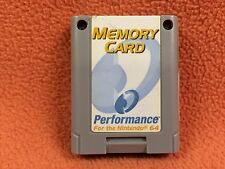 Nintendo 64 N64 Memory Card Expansion Accessory by Performance Super!