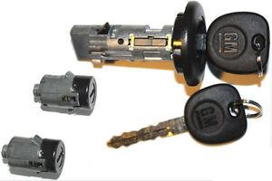NEW HUMMER OEM IGNITION SWITCH LOCK CYLINDER + 2 DOOR LOCK CYLINDER + 2 KEYS