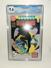DC Batman Annual #11 Cgc 9.6 White Pages 1987 FREE SHIPPING