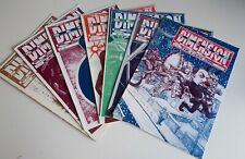 7 DOCTOR WHO FANZINE MAGAZINES FROM THE EARLY 90s. SECOND DIMENSION.