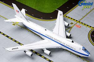 US Air Force Boeing E-4B 73-1676 Gemini Jets GMUSA083 Scale 1:400