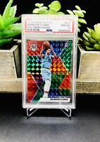 2019-20 Panini Mosaic BRANDON CLARKE Choice Red Green Prizm SSP RC #207 PSA 10