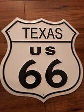 Route 66 Texas Shield -tin