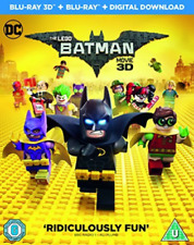 Lego Batman Movie 3D Bluray (UK IMPORT) DVD NEW