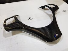 BMW M SPORT 4D CARBON WRAPPED STEERING WHEEL TRIM E90 E91 E92 E93 E81 E82 XCHANG