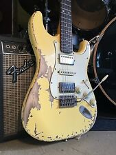 USA Relic Custom Strat Electric Guitar w/ Fender Standard Stratocaster Pickups