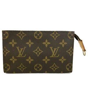 Louis Vuitton Monogram Cosmetics Pouch (Bucket PM) Purse /C1337