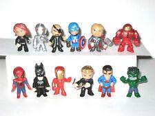 Marvel Avengers Super Heroes Mini Action Figures Lot Of 12