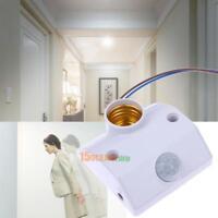Lampenfassung mit 110° PIR Bewegungssensor E27 Fassung Bewegungsmelder Sensor