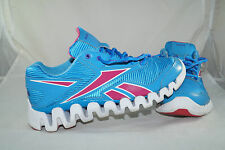 Reebok Zig Activate Gr: 36,5 Rose Bleu Running Jogging Chaussures De Course