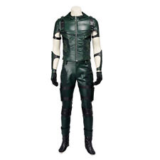 Green Arrow Season 4 Oliver Queen Uniform Outfits Cosplay Costume