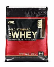 Gold Standard Whey Protein - Optimum Nutrition- 10 lbs - Cheapest Price on Ebay!
