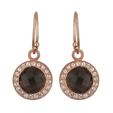 New Fashion Womens 1 Pair Dangle Earrings Rose Gold Plated Designer Jewelry