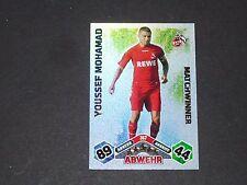 MOHAMAD 1.FC KÖLN TOPPS MATCH ATTAX PANINI FOOTBALL BUNDESLIGA 2010-2011