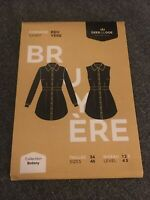 Deer And Doe Bruyere Shirt Dress Sewing Pattern Brand New