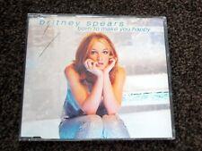 BRITNEY SPEARS, BORN TO MAKE YOU HAPPY, RARE CD SINGLE - 3 TRACKS.