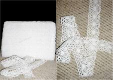 Vintage Style Cotton Crochet Lace Edge Trim White Ribbon Sewing Crafts CTRM132