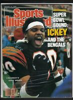 Sports Illustrated,ICKEY WOODS BENGALS COVER 01/16/1989