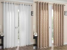Polyester Embroidered Window Curtains