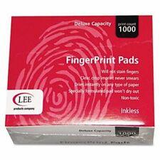 Lee Inkless Fingerprint Pad 2 14 X 1 34 Black Dozen Lee03127