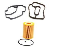 1 Oil Filter & 2 Oil Filter Housing Gasket for Mercedes W164 W251 GL350 ML350