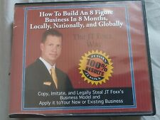 JT Foxx Business Building Course DVDs x 16 (cost new $3,000 !!!)