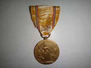 WWII États-Unis Armed Forces Amérique Defense Service Complet Taille Médaille ♥
