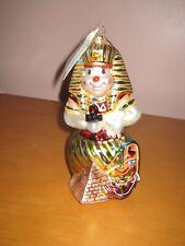 Radko Around the World Snowmen Egypt Ornament