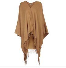 topshop camel cape shawl jacket