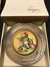 Juan Ferrandiz 1979 Drummer Wooden Plate Handcrafted By Anri Le #1275 With Box
