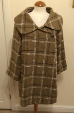 Ladies unusual Normal For Norfolk Cape style Swing coat Size Small-Medium