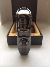 Eternity Triple Jet Cigar Puncher Silver Color -Etn7-silver