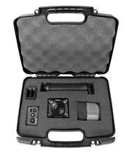 """CASEMATIX 12"""" Travel Carry Hard Case With Pick and Pluck Foam Protection - Cu..."""