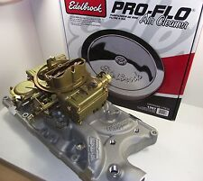 HOLLEY 600 cfm & WEIAND 8124 manifold package suit FORD 289 302 WINDSOR carby