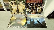 Roxy Music: Lot of 4 Vinyl LPs