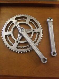 Vintage TA crank set 42/52T X 170mm used