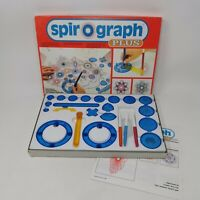 Vintage Spirograph Plus Complete With Instructions Retro Lovely Condition