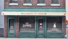 Walthers #933-3473, Flowers by Terry Shop, building Kit HO SCALE FREE POST