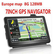 "7"" HD Car Truck GPS Navigator 8GB EUROPE MAP FM MP3 USB TF/MMC Touch screen"