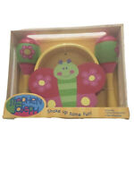 Ages 3+ Stephen Joseph Percussion Set Flower/Butterfly Tambourine & Maracas NEW