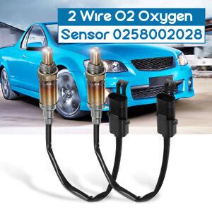 2Pcs O2 Oxygen Sensor For Holden Commodore V6 3.8L VP VR VS VT VY Ute Caprice AU