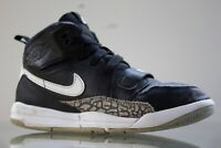 Nike Air Jordan Legacy 312 PS 'Black Cement' Shoes Youth AT4047 001 Size 1Y