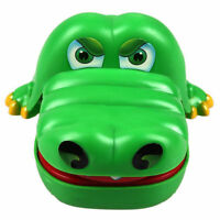 New Large Funny Realistic Crocodile Toy Big Mouth Kid Dentist Play Game Gag Gift