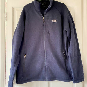 Men's NAVY BLUE North Face Fleece LARGE