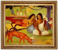 Ölbild, Arearea, erotische Frauen, Paul Gauguin,Gemälde HANDGEMALT F:50x60cm